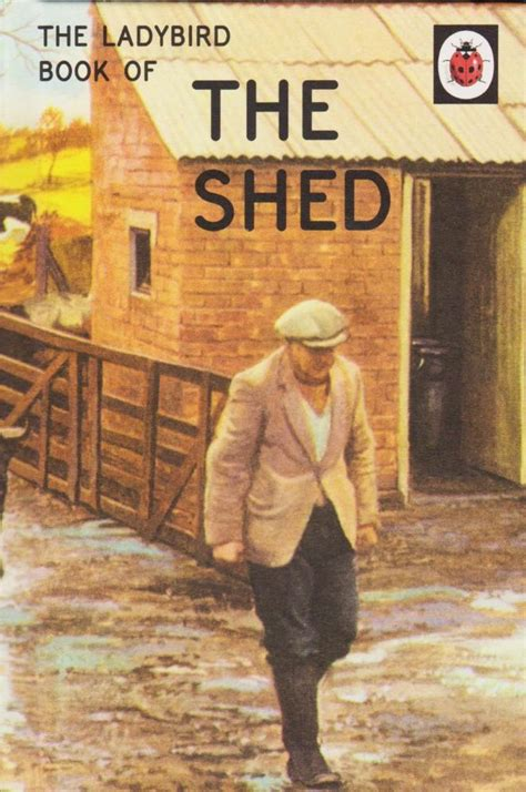 The Shed Book new the shed ladybird books for grown ups matt hardback 2015