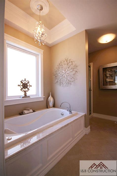 master bathroom chandelier master bathroom love the chandelier i m most excited for