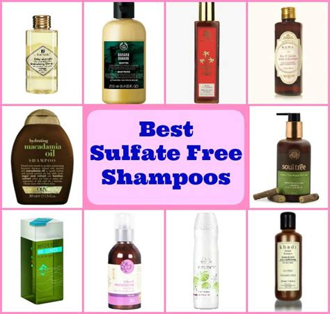 Highest Rated Sulfate Free Shoo | best sulfate free shoos in india top 10 with prices