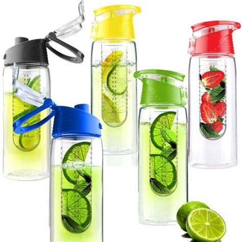 Botol Tritan Infused Water Kesehatan Infuser Citrus Sports Bottle Buah infused water botol minum unik dengan berbagai rasa buah