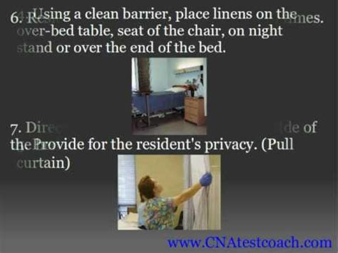 cna training making an occupied bed youtube cna skill making an occupied bed youtube