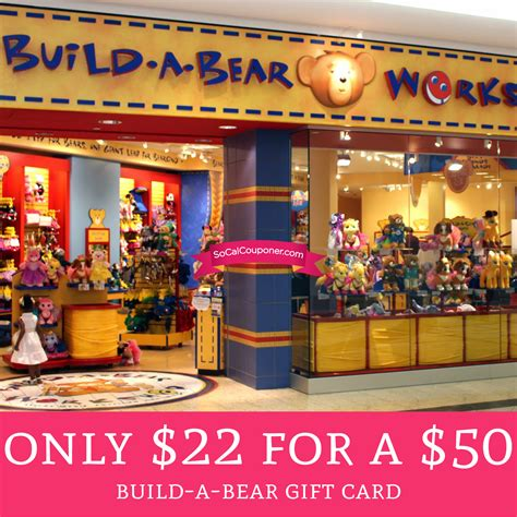 hurry only 22 for a 50 build a bear gift card deal hunting babe - Build A Bear Gift Card Target
