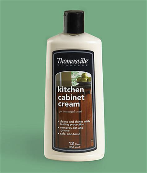 cleaning solution for kitchen cabinets thomasville kitchen cabinet cream 12 oz cleaning
