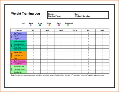 template for exercise program workout plan template workout routine sheets jpg sales