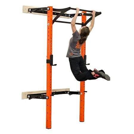 prx performance pro folding kipping bar squat multi power