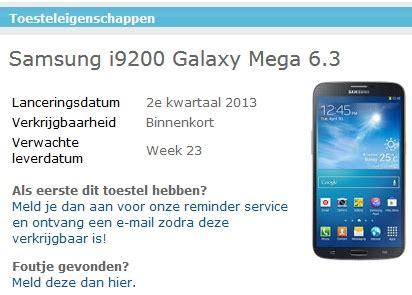 Kamera Belakang Back Samsung Galaxy Mega 63 63 Gt I9200 I9200 samsung galaxy mega phablets get delayed tablet news
