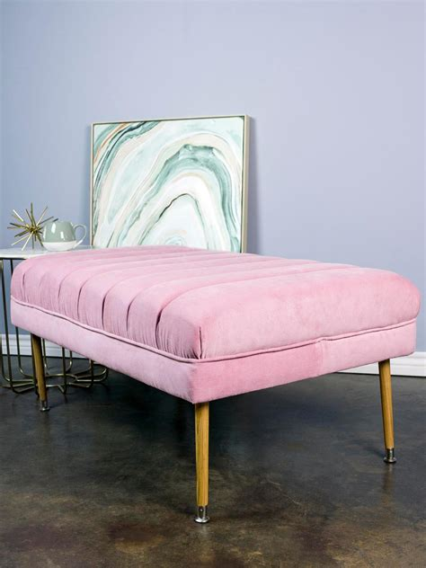 make a tufted ottoman how to make a tufted ottoman home dzine craft ideas how