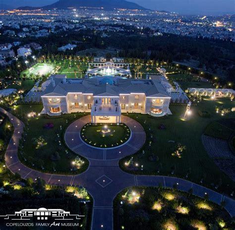 Modern Floor Plans For New Homes dimitrios copelouzos greece mega estate homes of the rich