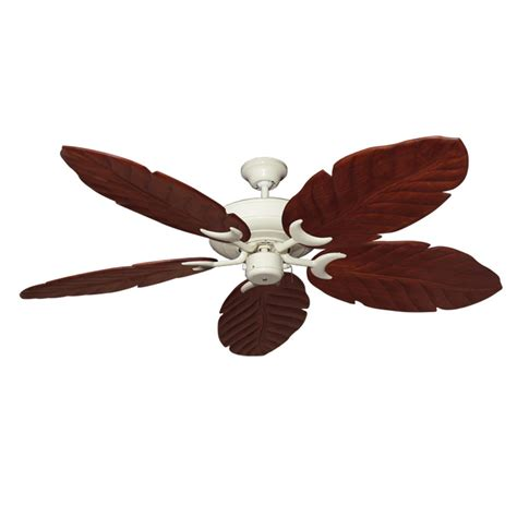 White Leaf Ceiling Fan by Antique White Raindance 100 Series Ceiling Fan Real Wood