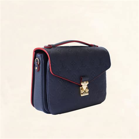 Lv Metis Empreiente Navy Lining louis vuitton empreinte metis pochette one size the collectory