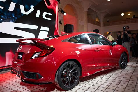 2016 Honda Civic Si 6 Things We Learned About The Upcoming 2017 Honda Civic Si