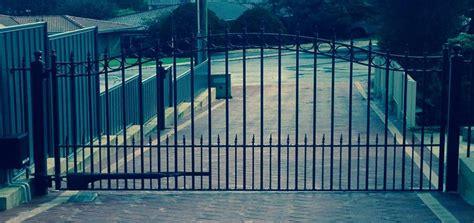 single swing driveway gate concord single swing driveway gate tek gates and fences