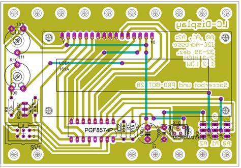 transistor bc548c conrad elektronik projekte lc display