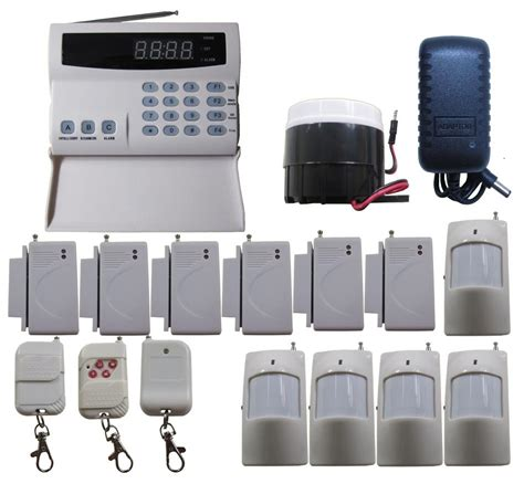 q10 pstn voice 99 zones wireless home security alarm