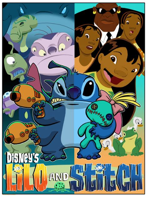 Lilo Sticth The Series lilo stitch series