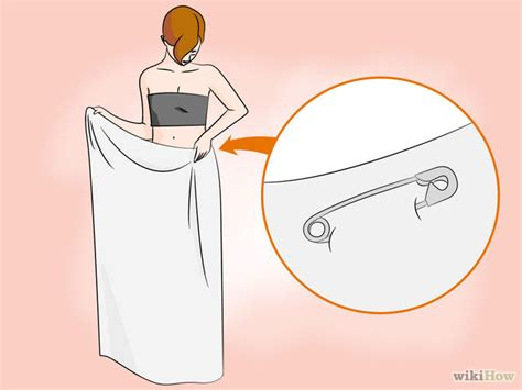 how to make a toga out of a bed sheet make a toga out of a bedsheet step 10