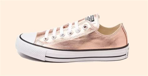 %name Rose Gold Colored Shoes   Converse All Star Metallic Rose Gold   Soleracks