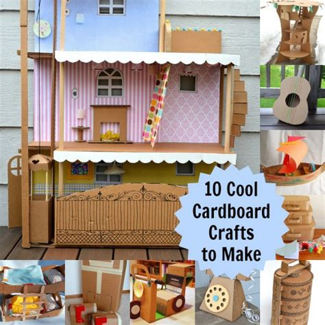 cardboard craft projects 10 cardboard projects that will