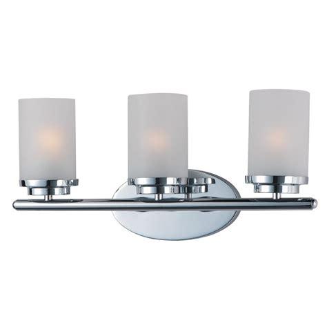 Maxim Bathroom Lighting Maxim Lighting Essentials 6 Light Polished Chrome Bath Vanity Light 7126pc The Home Depot