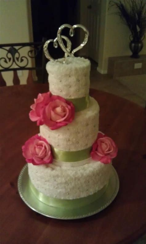 Bridal Shower Towel Cake by 18 Best Images About Towel Cake On Wedding