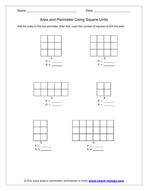 printable area area and perimeter worksheets worksheets releaseboard