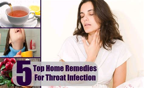 top 5 home remedies for throat infection