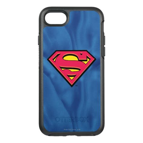 Superman Iphone 7 superman s shield classic logo otterbox symmetry iphone