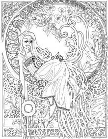 gallery gt detailed disney coloring pages