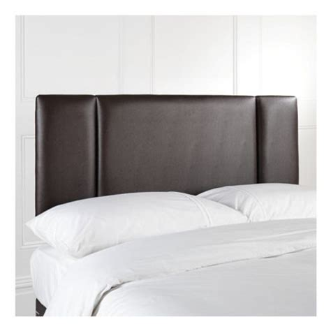 buy portobello king faux leather headboard brown from our