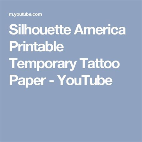 temporary tattoo paper youtube best 10 temporary tattoo paper ideas on pinterest wood