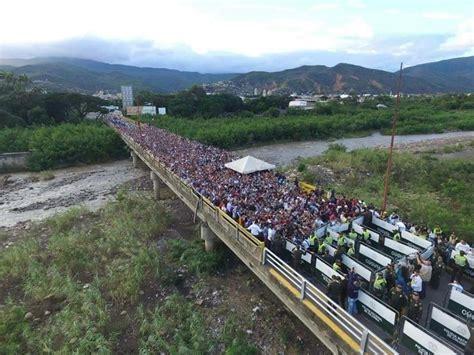 imagenes frontera venezuela colombia gangsters out blog venezuela meltdown and exodus