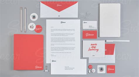 10 Branding Identity Mockups   Made by Sidecar   By
