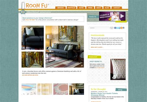 room design website room fu interior design website flywheel creative