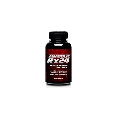 anabolic rx24 testosterone booster 742mg per capsule by biotrimlabs dubai supplements