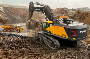 Volvo Excavators Volvo Launches 90 Tonnes Excavator At Bauma 2016