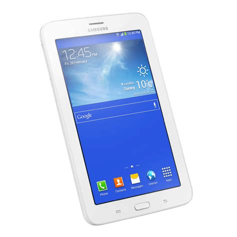 samsung galaxy tab 3 lite 3g 7 0 8gb sm t111 white jakartanotebook