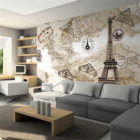 wallpaper for walls wholesale online buy wholesale paris mural wallpaper from china