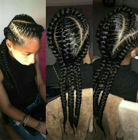edgy urban cool hair on pinterest 86 pins 3 feed in cornrows i like natural styles that i d