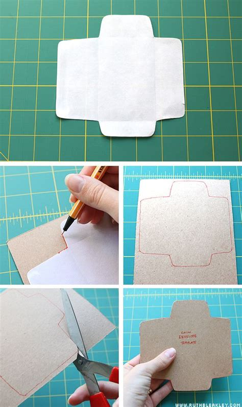 How To Make Small Envelopes From Paper - 1051 best images about templates patterns on
