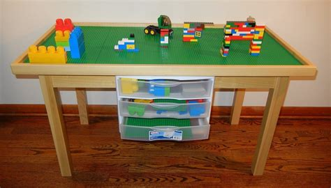 how to make a lego bench diy lego table easy hints and tips