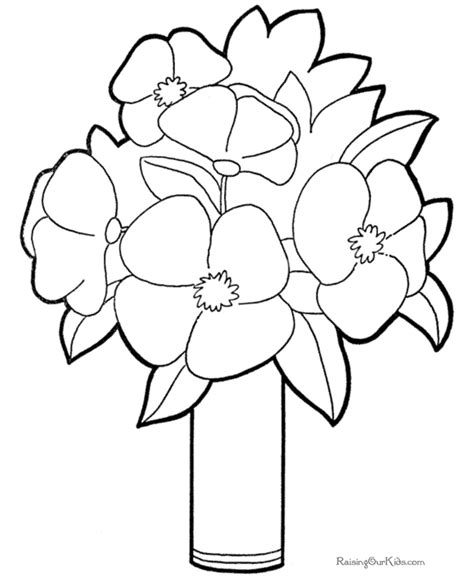 coloring pictures of beautiful flowers coloring pictures flowers