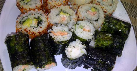Alat Penggulung Sushi Bahan Plastik Elastis resep sushi avocado salmon oleh siswaty elfin bachtiar