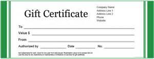 restaurant gift certificate template best photos of gift certificate word document gift