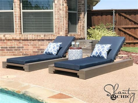 diy outdoor lounge chair    video shanty  chic