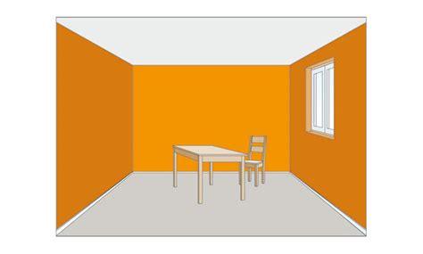 Hohe Räume Optisch Verkleinern by Wirkung Farben Selbst De