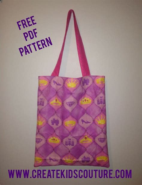 tote bag pattern for toddler free tutorial tuesday easy reversible tote bag free