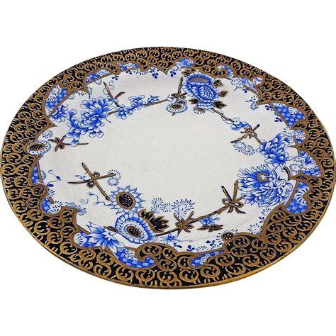blue pattern porcelain antique royal crown derby cup and plate porcelain melton