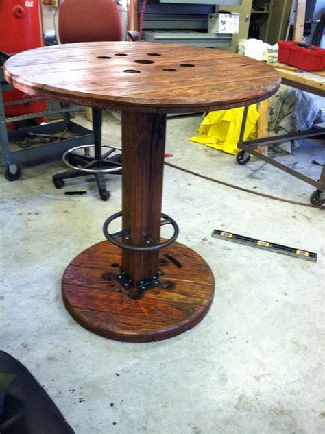 Unique and Functional Ways to Use Wire Spool Table