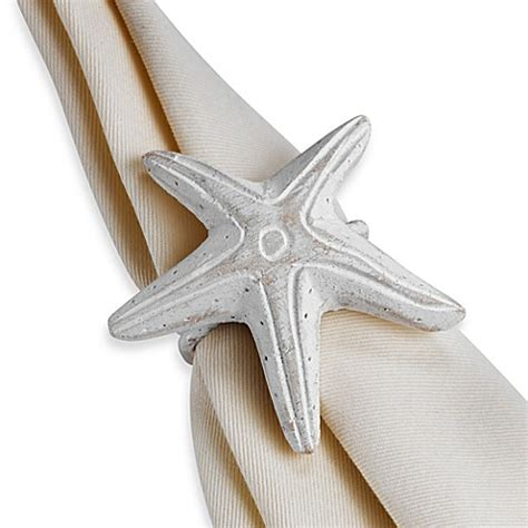 starfish in bed starfish napkin ring bed bath beyond