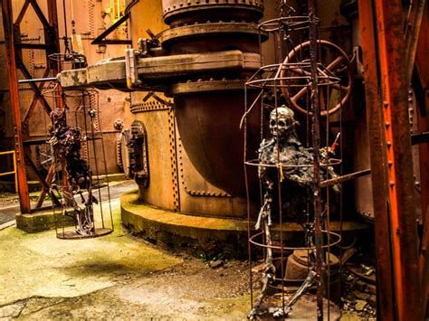 haunted history of sloss furnace sloss fright furnace al american photo blog
